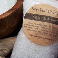 Dead Sea Salt Detox Bath Salts - Unscented All-Natural From the Dead Sea - Cleanse Your Stones