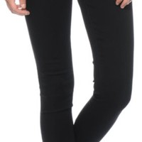 YMI WannaBettaButt Black Jeggings