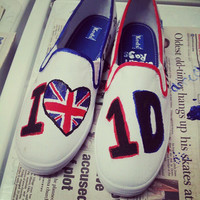 Customizable One Direction Shoes