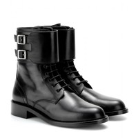 saint laurent - patti leather boots