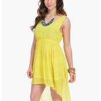Yellow Sun is Shining Sleeveless Party Dress | $10.00 | Cheap Trendy Casual Dresses Chic Discount F