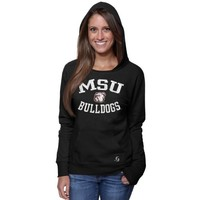 Mississippi State Bulldogs Ladies Year Round Pullover Hoodie - Black