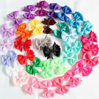 Small pinwheel hair bows, Choose 6 bows, 2 inch bow, toddler hair accessories, girls hairbows