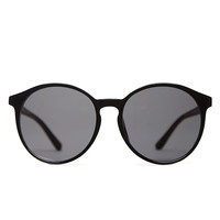 The Row x Linda Farrow / Rounded Sunglasses  |   La Garçonne