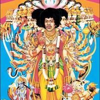 Jimi Hendrix - Axis Bold as Love - Poster