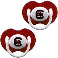South Carolina Gamecocks Infant 2-Pack Pacifier