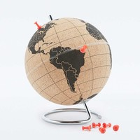 Suck UK Small Cork Globe - Urban Outfitters