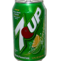7-Up Soda Can 12oz