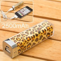 2500mah Power Charger Battery Bank for Iphone 4/4s, Various Cell Phones and Digital Devices