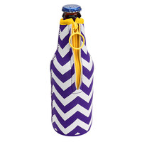 LSU Purple & Gold Bottle Koozie