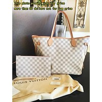 Louis Vuitton LV Handbag Women Leather Bag Tote Shoulder Bag Two Piece And Key Pouch-Coin Purse