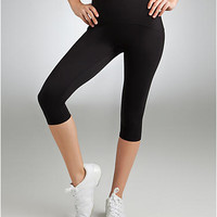 SPANX Medium Control Capri Leggings Activewear Daywear Shapewear 550 at BareNecessities.com