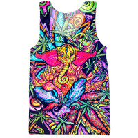 The Stoner Elephant Trippy Af Tank!
