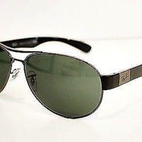 Ray-Ban RB 3509 Aviator RAYBAN sunglasses 004/71 Gunmetal 63mm Aviator UNISEX