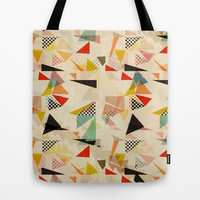 between shapes Tote Bag by SpinL