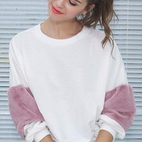 Maude Pink Puff Sweater