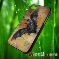 bat painting/MISSUMORE,Accessories,CellPhone,Cover Phone,Soft Rubber,Hard Plastic,Soft Case,Hard Case,Samsung Galaxy ,iPhone/19aug1