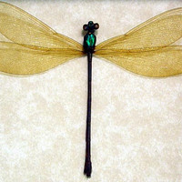 Damselfly Dragonfly Metallic Green Female Insect 8027
