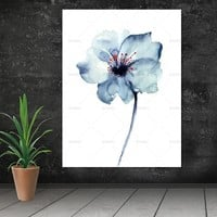 Wall art  flower decor poster Canvas Painting canvas painting Wall art art print  Picture home decor Wall Picture no frame
