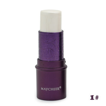 MAYCHEER 3D Countour Makeup Concealer Stick Shimmer Bronzer and Highlighter Waterproof Face Concealer Foundation Cream Cosmetics