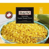 Daily Chef Steamable Super Sweet Corn (12 oz. bag, 6 ct.)