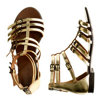 Girls' Milano gladiator sandals - flip-flops & sandals - Girl's shoes - J.Crew