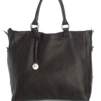 Turin-Large Soft Leather Shopper