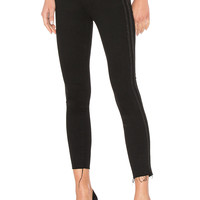 MOTHER High Waisted Looker Ankle Fray in Guilty Party Racer