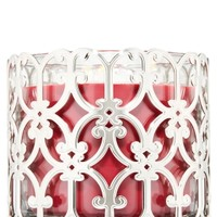 3-Wick Candle Sleeve Scalloped Gate