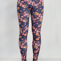 Fresh Take Leggings in Blossoms | Mod Retro Vintage Pants | ModCloth.com