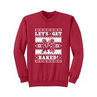 "New ""Baked"" Crew Neck Sweatshirt"