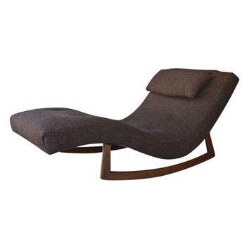 Pre-owned Adrian Pearsall Style Rocking Wave Chaise