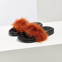 Faux Feathered Pool Slide | Urban Outfitters