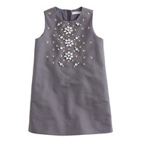 crewcuts Girls Adelaide Dress In Cotton Cady
