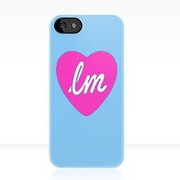 Little Mix Heart Logo Blue