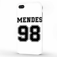 Shawn Mendes Number iPhone 4 | 4s Case, 3d printed IPhone case