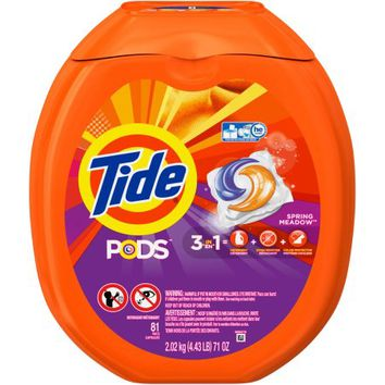 Tide PODS Laundry Detergent, Spring Meadow, 81 count - Walmart.com