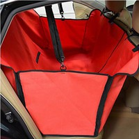 Hot sale Waterproof car seat cover for pets,dog seat cover different colors supply