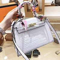 Hermes Trending Women Shopping Leather Handbag Shoulder Bag Crossbody Satchel