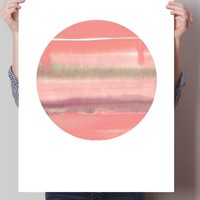 Red Moon Print