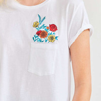 Future State Wildflower Peplum Tee | Urban Outfitters