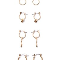 Mini Hoop & Stud Earring Set