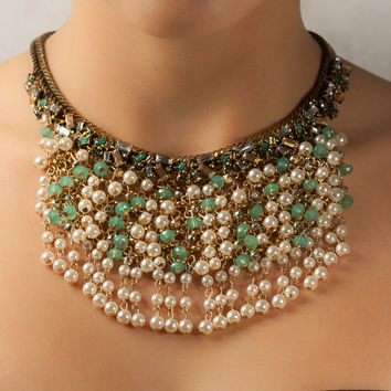Pearls over Pearls Necklace