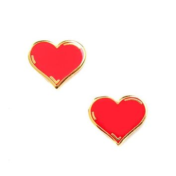 Mini Love Hearts Twin Pin Set