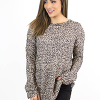 Black & Gold Shimmer Sweater