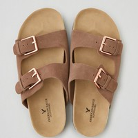 AEO DOUBLE BUCKLE SANDAL