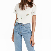 H&M T-shirt with Appliqué $9.99