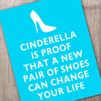 Cinderella is proof that a new pair of shoes can by thepixelprince