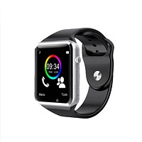 A1 Men Women WristWatch Bluetooth Smart Watch Android SIM Card Pedometer With Camera Smartwatch For Apple Watch