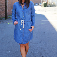 Blue Jean Baby Belted Dress